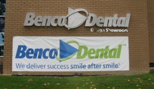 Benco Dental Channel Letters Fron
