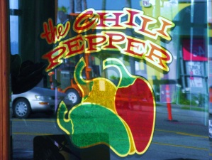 Chilli Pepper Window Graphic