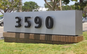 Monument Sign After
