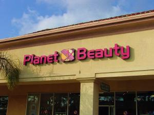 Planet Beauty Sign