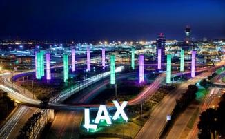 LAX landscape