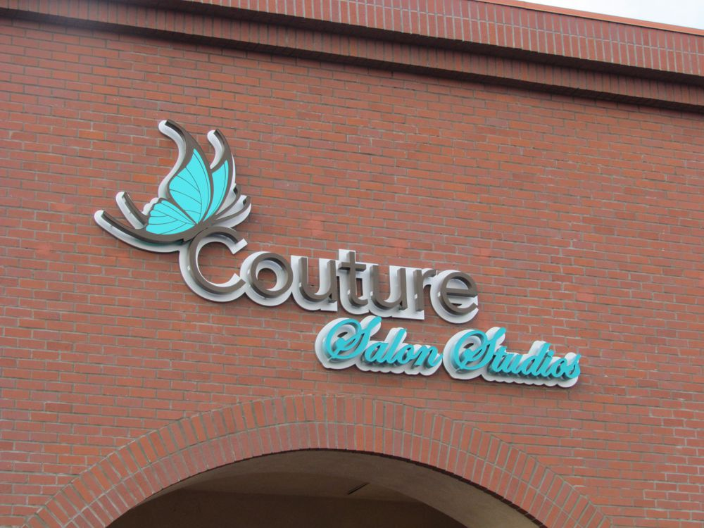 Couture Channel Letter Sign