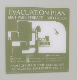 Custom ADA Evacuation Plan Kerlin Jobe