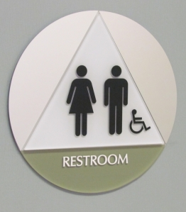 Custom ADA Restroom Sign Kerlin Jobe
