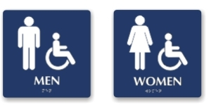 Typical ADA Signs