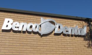 Benco Dental Channel Letter Sign