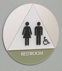 Kerlin Jobe Restroom ADA Sign