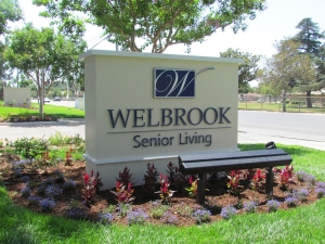 Wellbrook Monument Sign