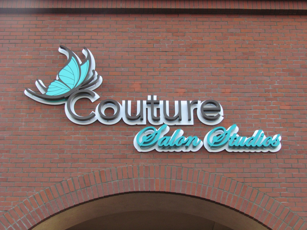 Couture Salon Studios Channel Letter