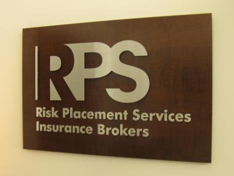 RPS Lobby Sign