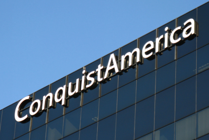 Conquistamerica High Rise Wall Sign