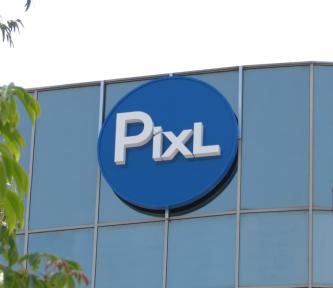 Pixl High Rise Wall Sign