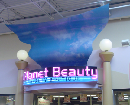 Planet Beauty Neon Sign