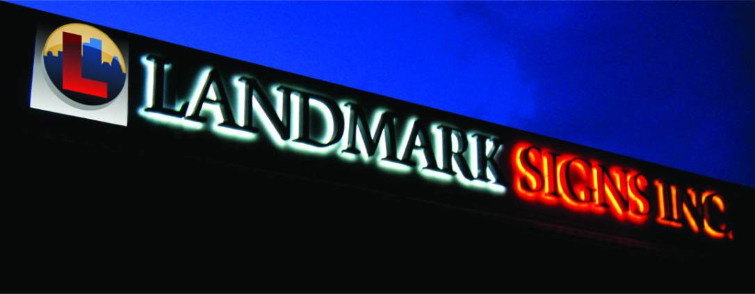 Landmark Signs Halo Channel Letters