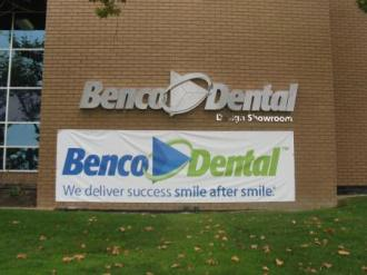 Benco Dental Store Front Sign 1
