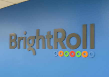 bright roll lobby sign