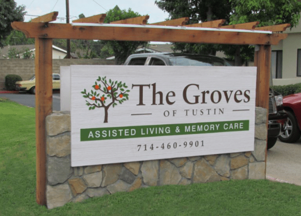 The Groves Custom Monument Sign