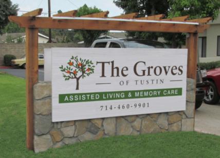 The Groves Custom Monument Sign