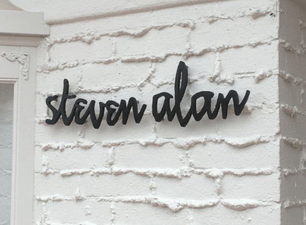 Steven Alan Business Sign