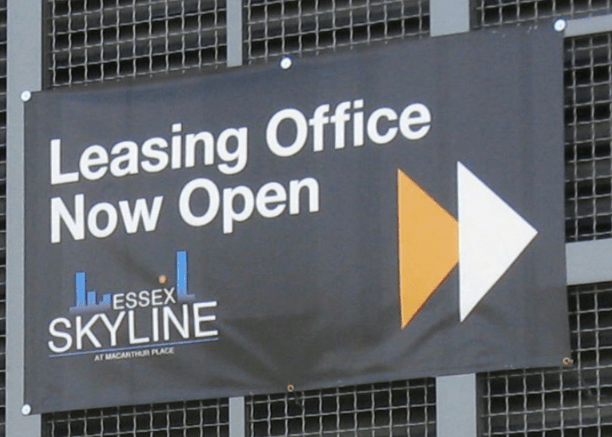 Essex Skyline Exterior Directional Sign